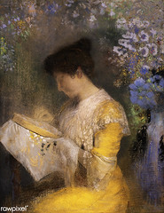 Madame Arthur Fontaine by Odilon Redon