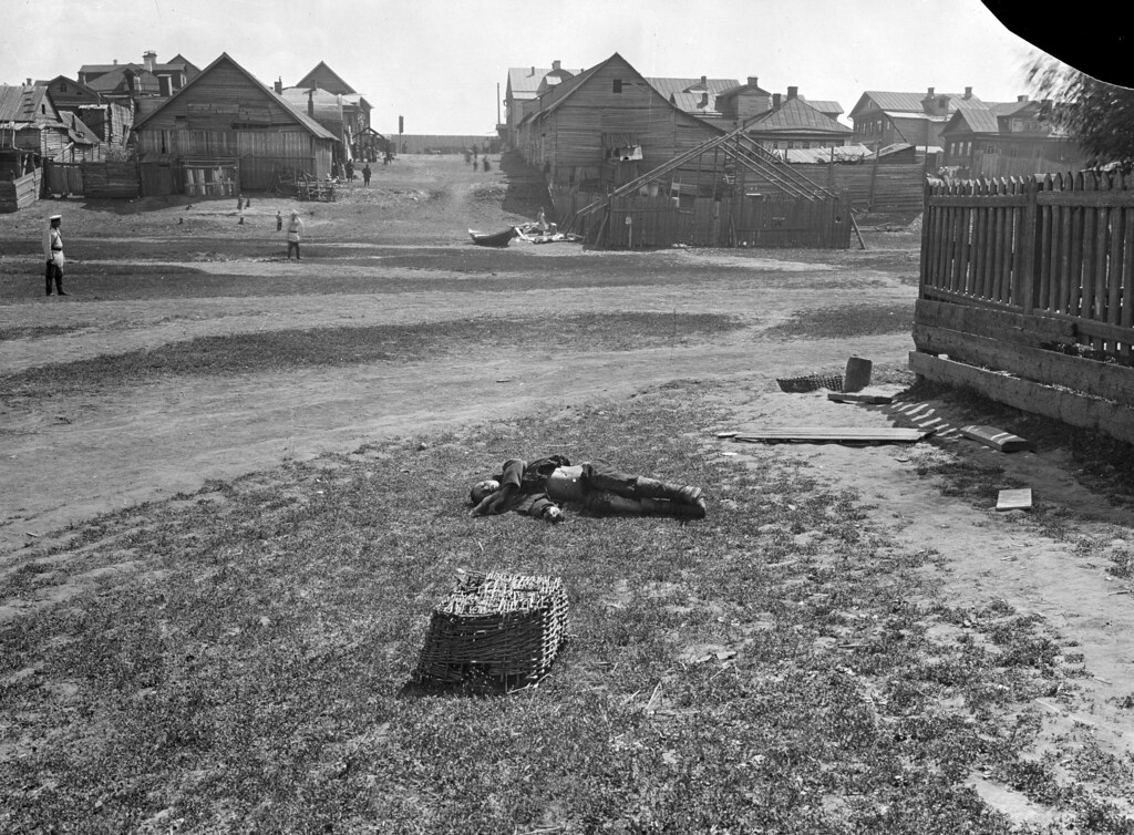 1900-е. Убийство в деревне Гордеевка. Фотограф Максим Дмитриев