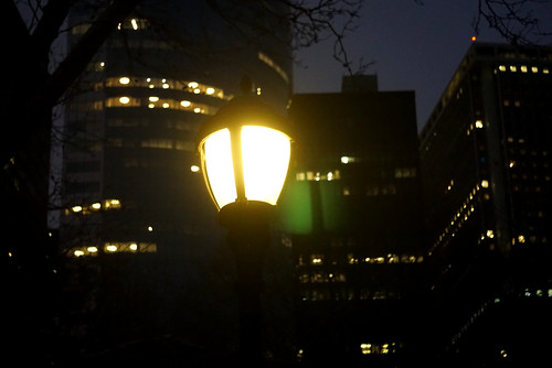 Battery Park evening