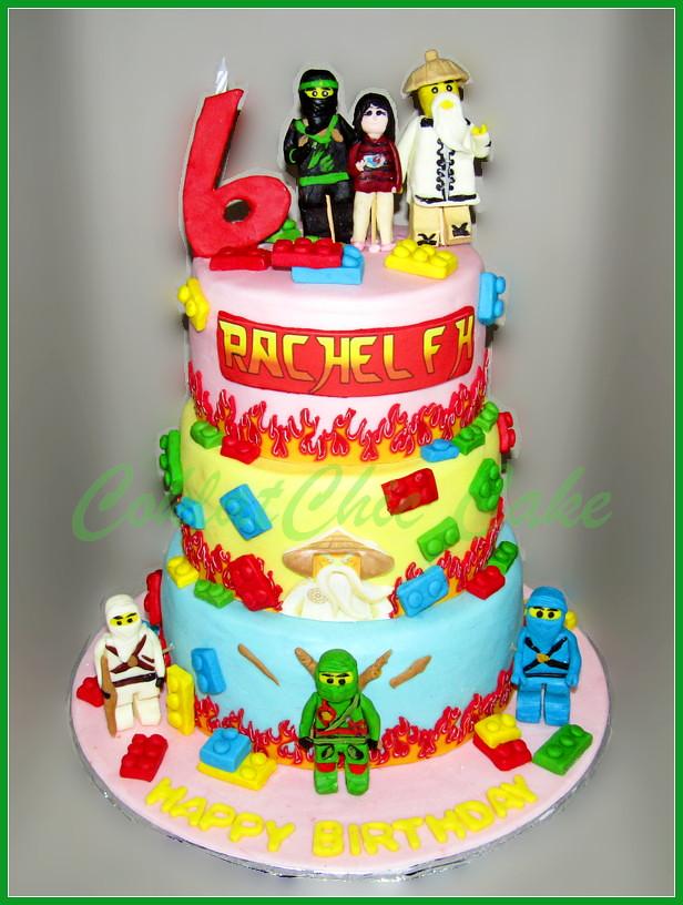 Cake Ninjago RACHEL 20/18/15