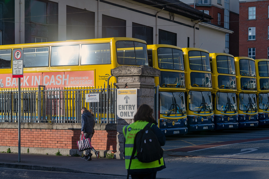 DUBLIN BUS DEPOT RINGSEND ROAD - FEBRUARY 2019 010