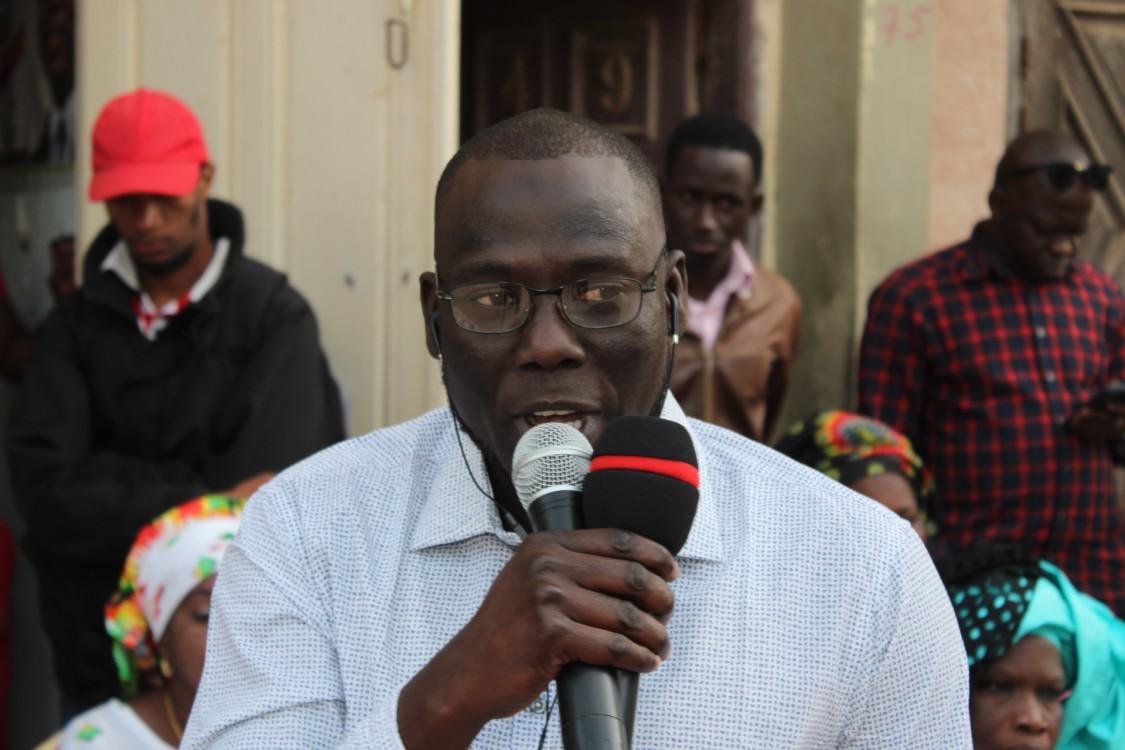 Rencontre Benno Bokk Yaakaar Cambérène 2 Avec Issa Sow, responsable Politique amis de Macky Sall (10)