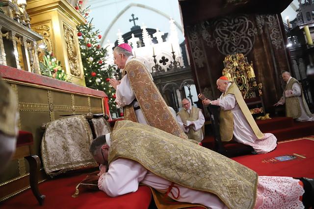 Sakra bpa Janusza  Mastalskiego | Abp Marek Jędraszewski, Katedra na Wawelu | 5.01.2019