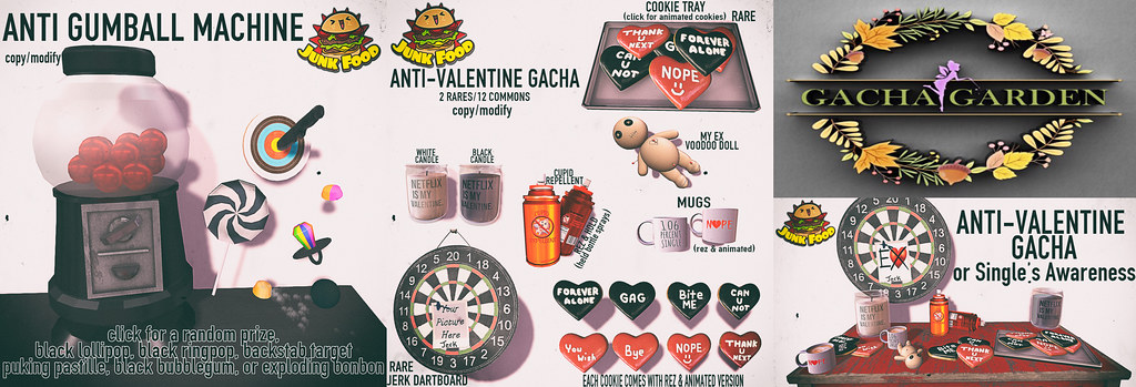 Junk Food – Anti Valentine Gacha Flickr