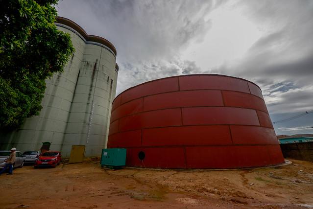Novos reservatórios de água aumentam capacidade da rede em 20 milhões de litros