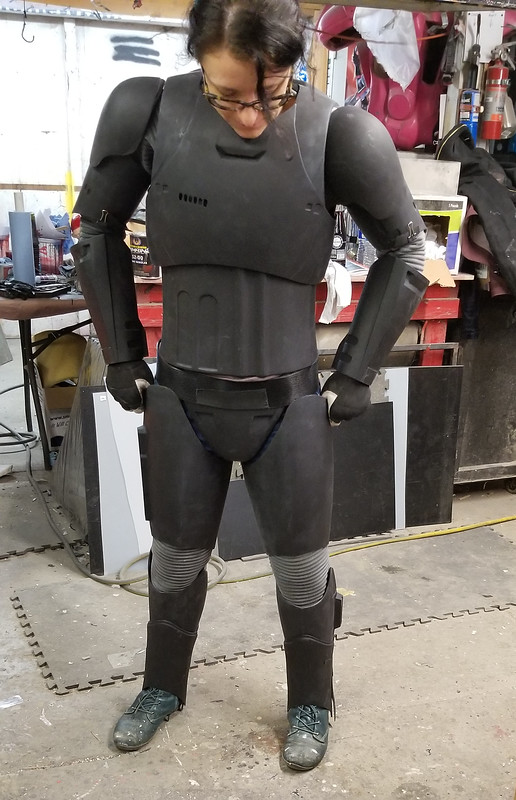 Phasma Rigging progress