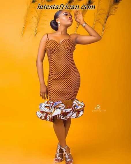 Latest African print Woman styles 2019