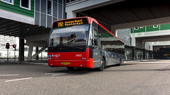 CXX 3580 leaving Zaandam Busstation