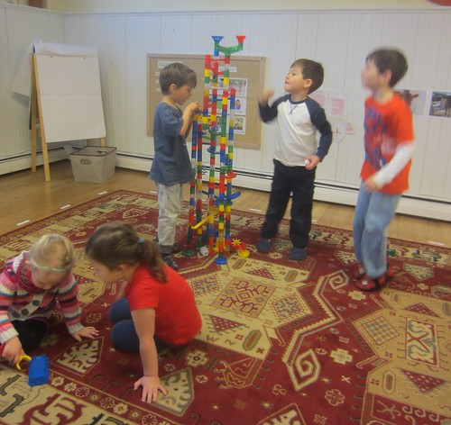 marble run tower