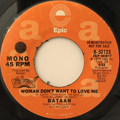 BATAAN:WOMAN DON'T WANT TO LOVE ME(LABEL SIDE-B)