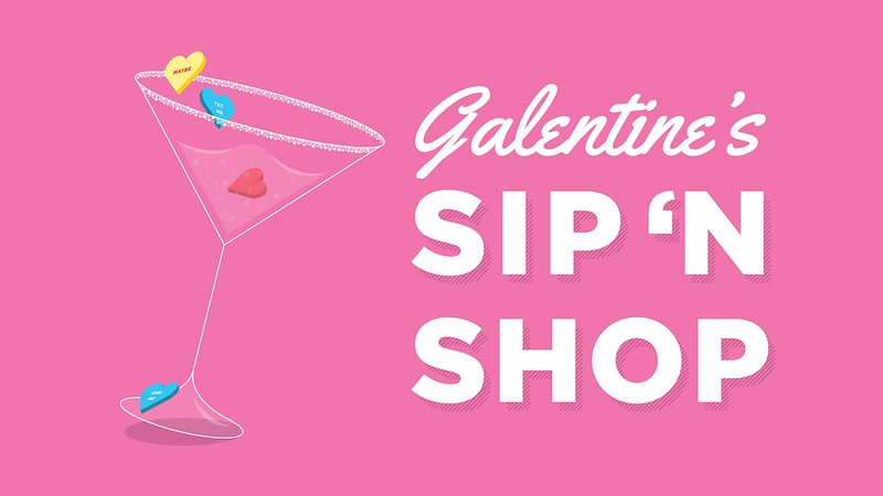 Galentine's Day Sip 'N Shop Jefferson Valley Mall Yorktown New York