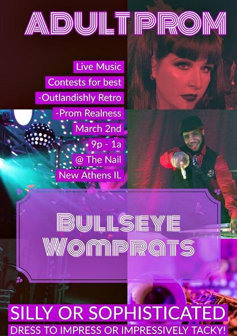 Bullseye Womprats 3-2-19