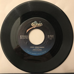 THE CLASH:SHOUD I STAY OR SHOULD I GO(RECORD SIDE-B)