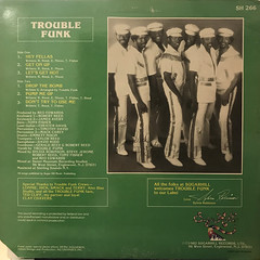 TROUBLE FUNK:DROP THE BOMB(JACKET B)