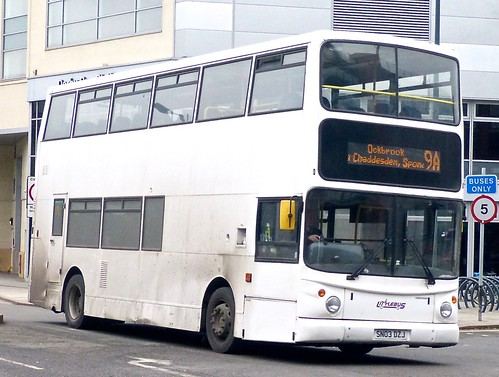 SN03 DZJ 'Littles of Ilkeston'. 'Littlebus'. Transbus Trident / Alexander ALX400 on Dennis Basford's railsroadsrunways.blogspot.co.uk'