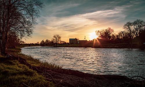 Sunset on River Boyne