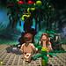 Adam and Eve 亞當與夏娃 (LEGO minifigure MOC)