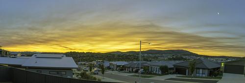 April 2019 sunset