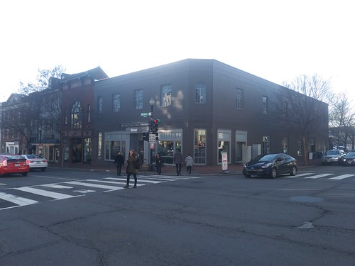 Restoration Hardware is now a Wawa convenience store, Georgetown, D.C.