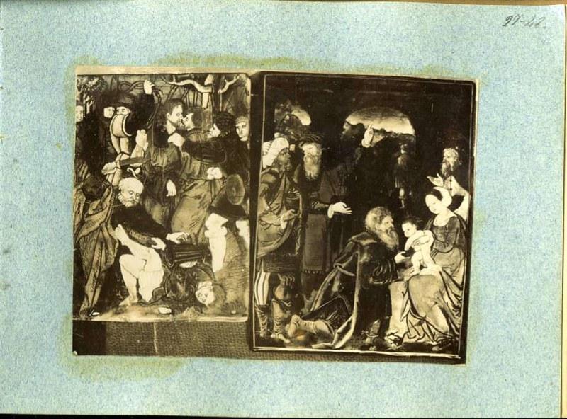 Pinturas sin identificar. Álbum con fotografías de Toledo hacia 1890. Fototeca del Museo del Ejército, signatura MUE 120476