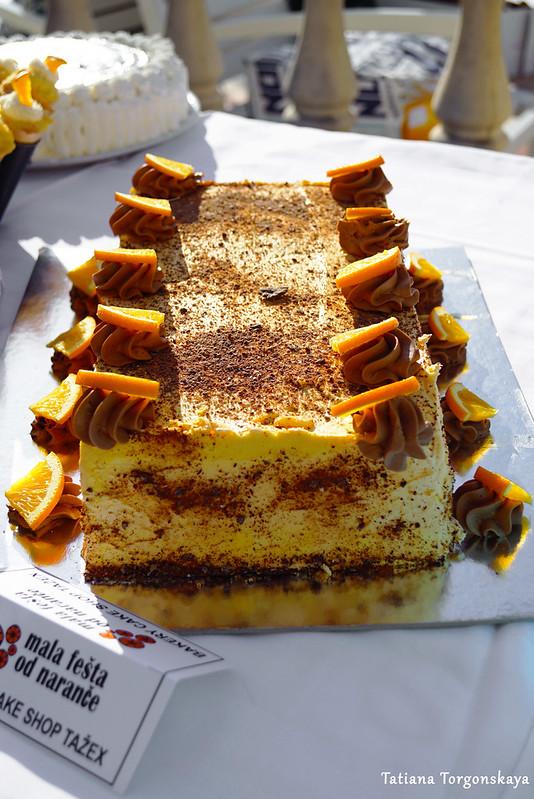"""Торт от магазина """"Tažex"""""""