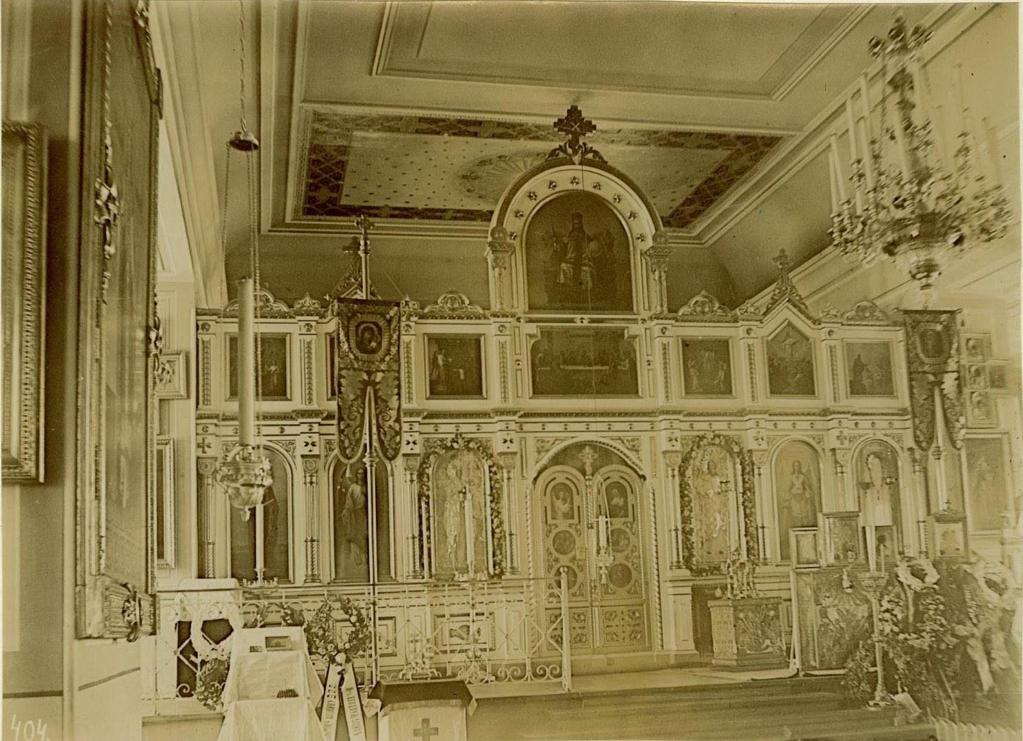 21. Иконостас Исидоровской церкви