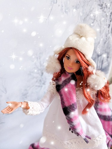 Let it snow! | by GlamLadyDollstudio