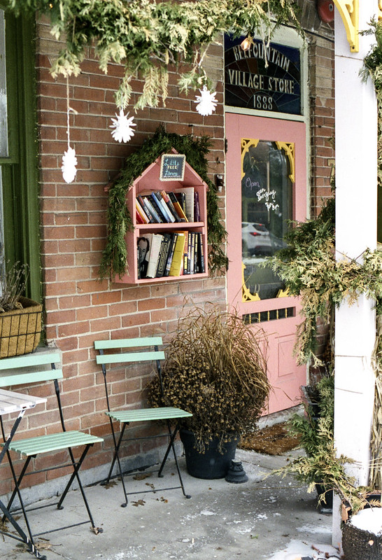 Decorated Tiny Library