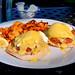 Crab Cakes Benedict - Orange