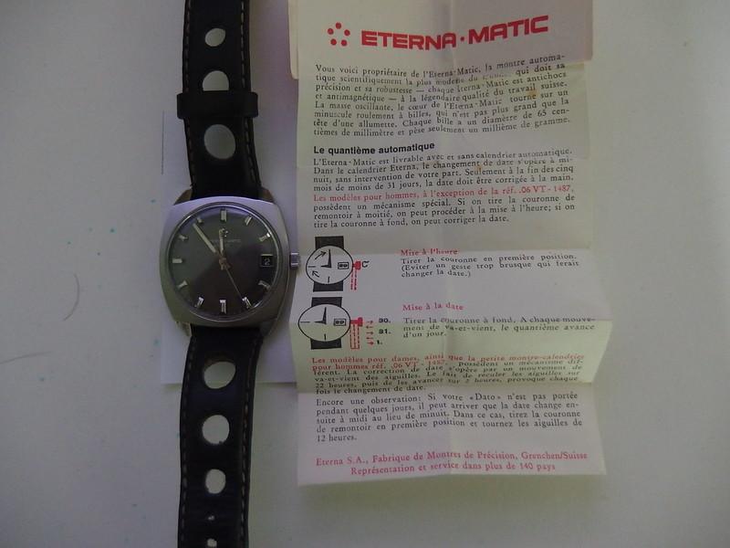 Mon Eterna Matic 1000 de retour de révision 46344608335_7ab09abc38_c