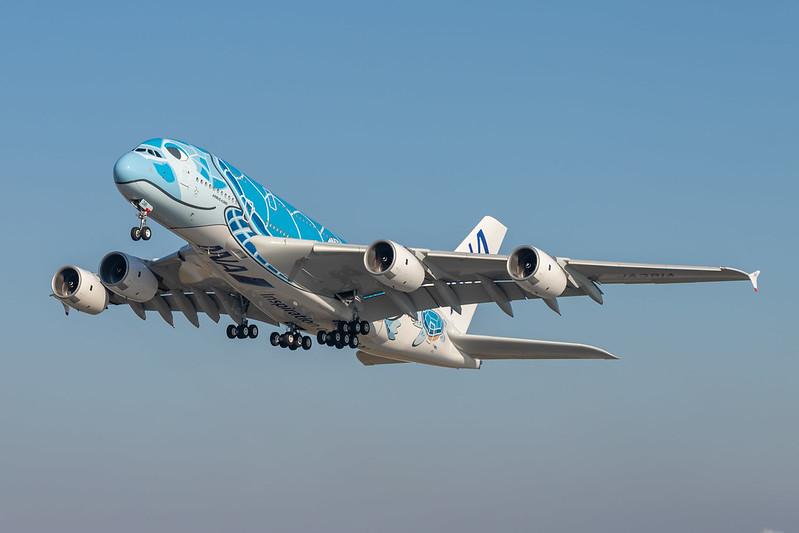 A380-841 All Nippon Airways F-WWSH - JA381A MSN262