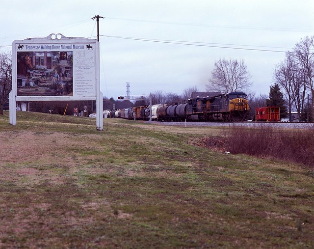 CSX: Wartrace, Tennessee