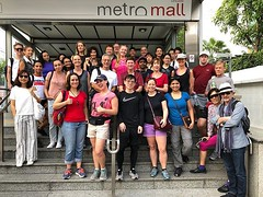 The first #bangkok #urbanhike I couldn't lead, due to a minor calf injury last week :cry: Thanks to @guentheralex for doing such a great job solo and @merilynw74 for having his back in case of emergency! Now I want to go on this walk myself!