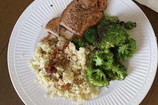Hello Fresh Cherry Balsamic Pork Chops