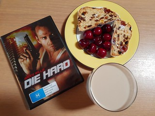 Die Hard, Stollen, Cherries, NutNog