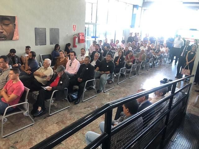 Ato Defesa da Justi�a do Trabalho Franca - 22-03-2019