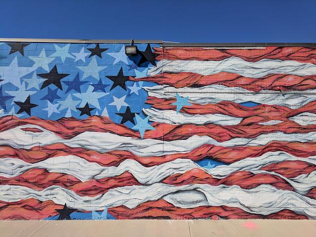 mural on Trinity Strand Trail