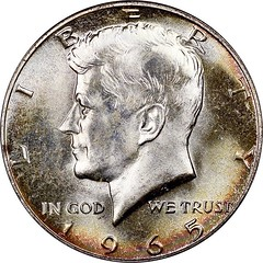 50c 1965 obv