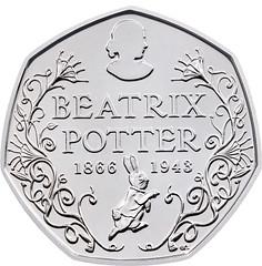 Beatrix Potter coin