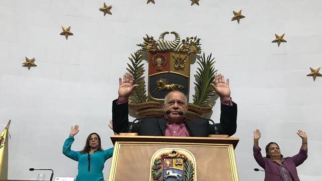 Assembleia Nacional Constituinte da Venezuela autoriza investigação contra Guaidó