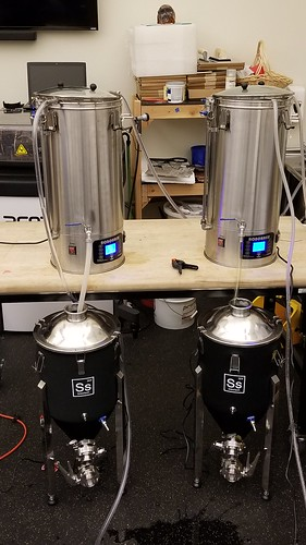 Two Brewers, Two Fermenters