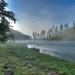 Yellowstone Morning Mist
