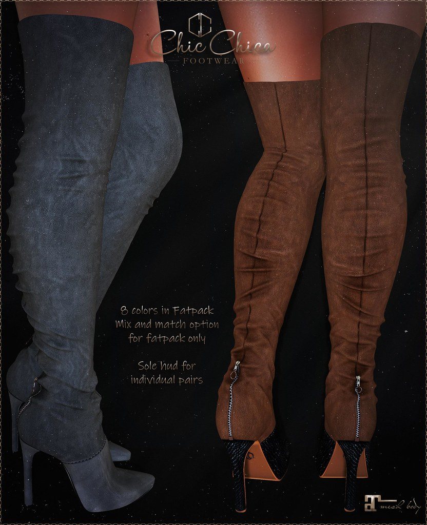 Danika boots by ChicChica @ Tres Chic