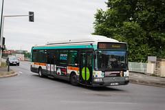 Irisbus Agora GNV 7074 RATP, ligne 103, Alfortville