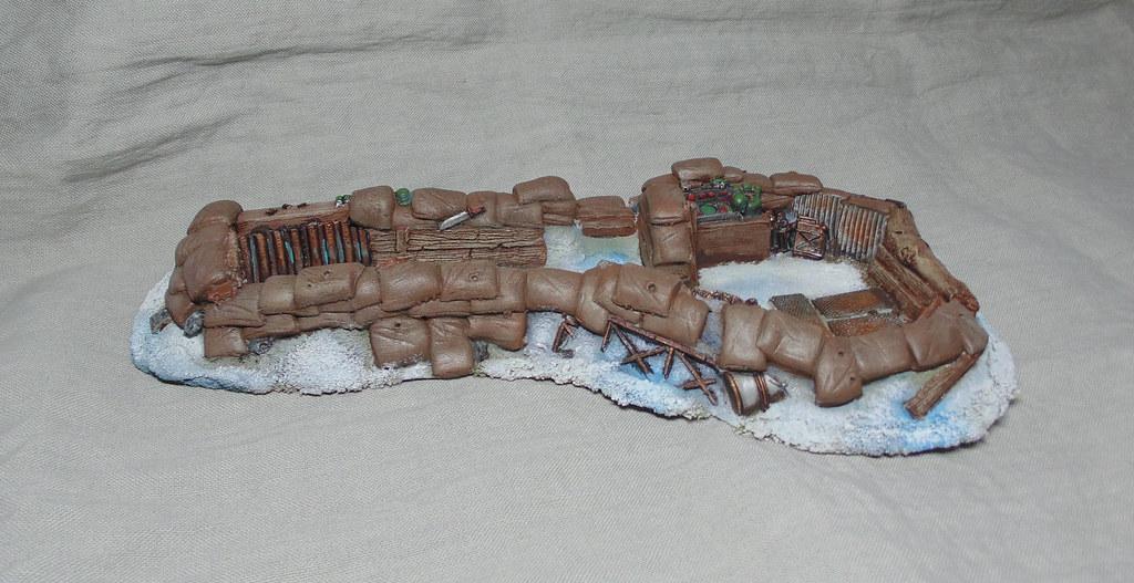 Tranchée astra militarum Hiver par Nilval 1.2
