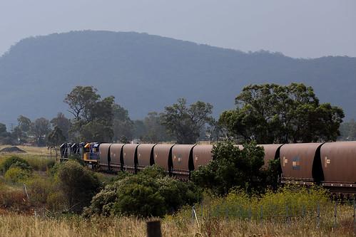 Long Coal Train