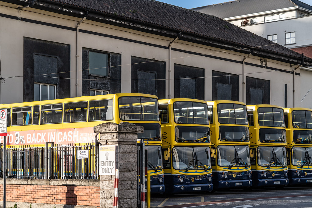 DUBLIN BUS DEPOT RINGSEND ROAD - FEBRUARY 2019 008