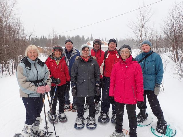 Snowshoeing in Passadena