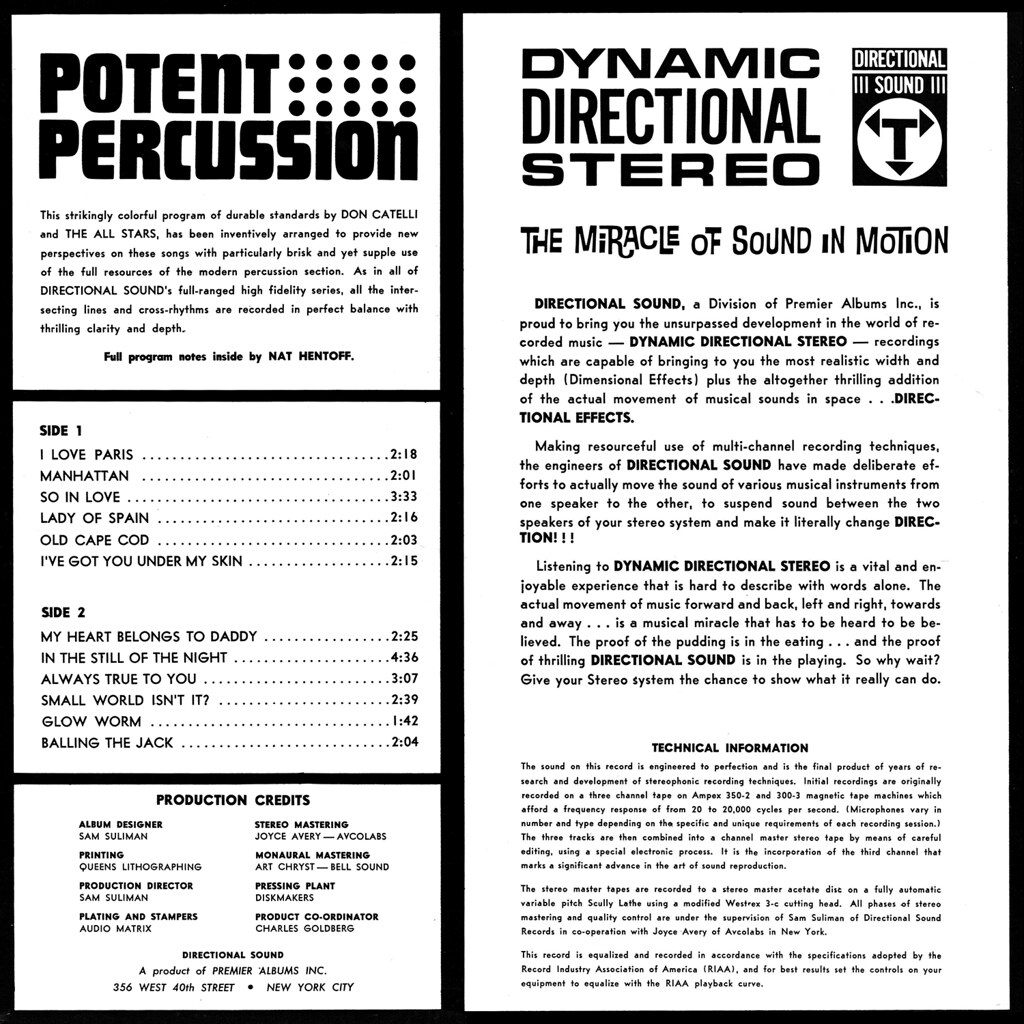 Don Catelli - Potent Percussion