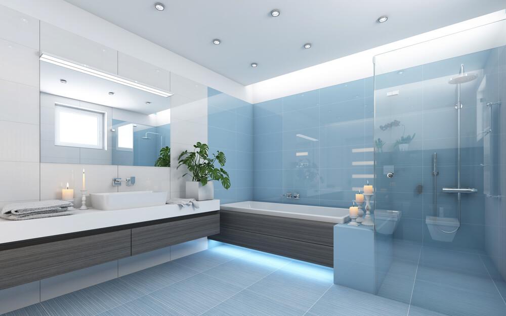 15 Contoh Desain Ruang Shower Pada Kamar Mandi